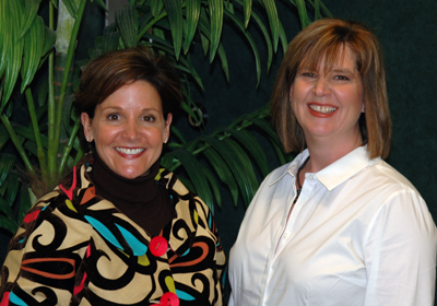 Dr. Dawn Cartee and Cindy Simms.