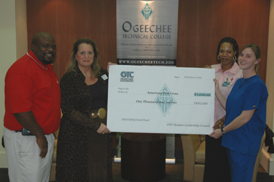 Ogeechee Tech Students Contribute to Red Cross.